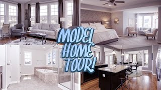 Our Model Home Tour!