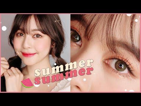 ⛱ SUMMER SUMMER ลุคหน้าร้อนสไตล์เกาหลี เครื่องสําอางหลักสิบหลักร้อย!   Babyjingko