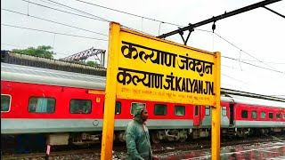 Kalyan Railway station at Mumbai : 4th busiest Railway Station of India : Central Railways