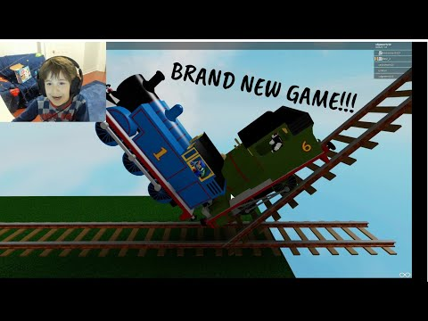 ** BRAND NEW GAME** - THOMAS AND FRIENDS: THE CRAZY SLIDE - Roblox