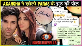 Paras Chhabra's Girlfriend Akansha Puri Angry REACTION On Tattoo Comment | Bigg Boss 13