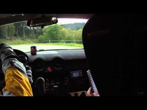 Rallye du Limousin | ES13 Auriat B.Vaillant HP.Morin Opel Adam Cup