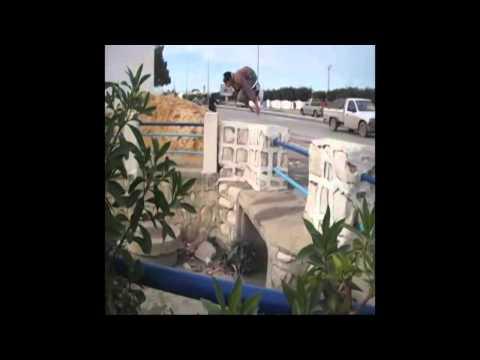 Parkour-Tunis (Grombalia) 2014 [part/ 2] =)