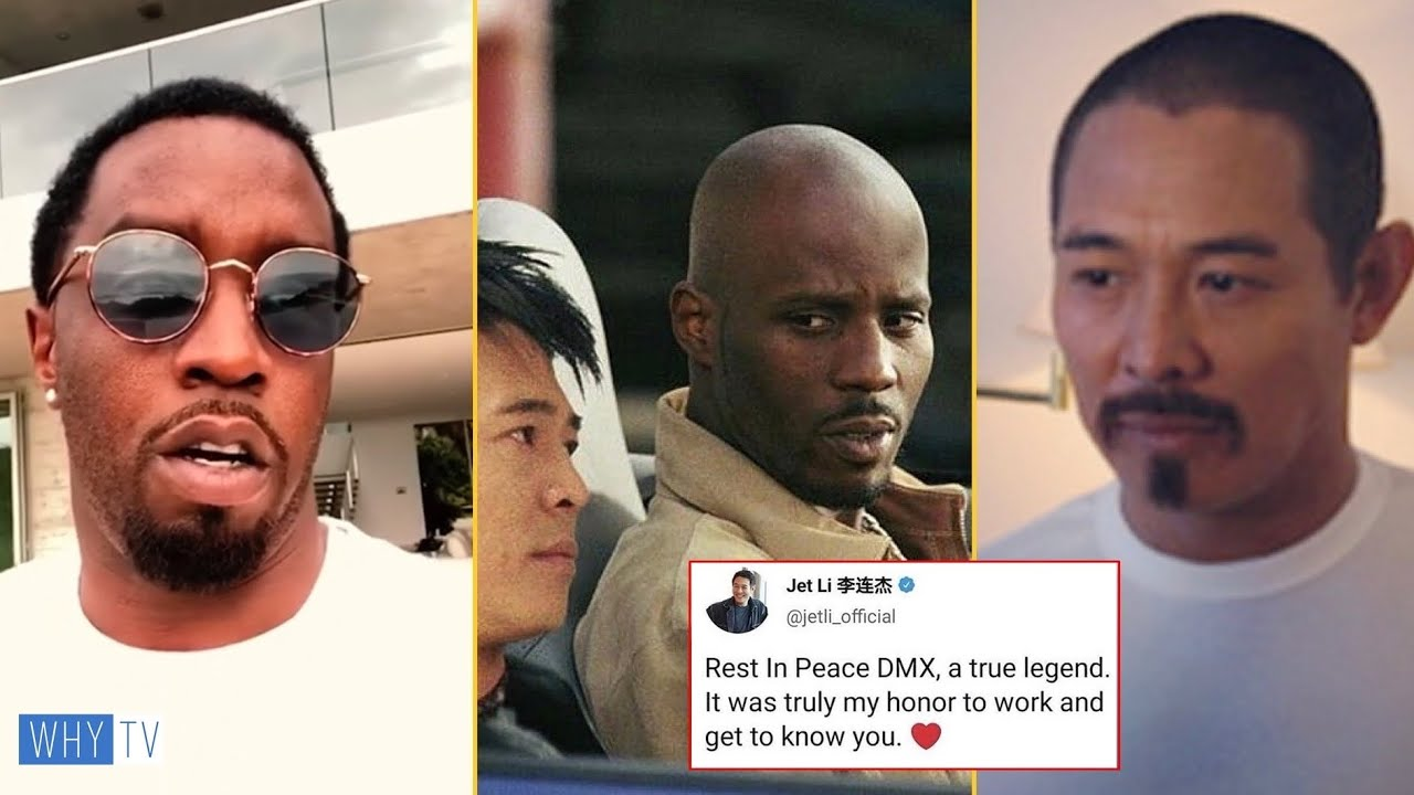 Diddy And Jet Li Sending Emotional Letter To DMX 'It Was Dream Working With You Black Hero X'