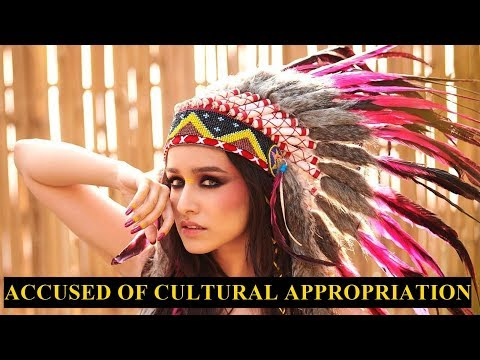 Shraddha Kapoor trolled for wearing Indian American war bonnet