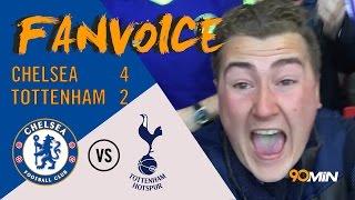 Chelsea 4-2 Tottenham | Matic screamer & Willian goals give Chelsea FA Cup semi win | 90min FanVoice
