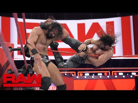 Seth Rollins vs. Drew McIntyre: Raw, Oct. 1, 2018