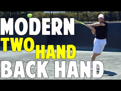 The Modern Tennis Backhand | The Two Hand Backhand