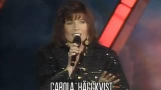 Melodifestivalen 1990   Mitt i ett äventyr   Carola Häggkvist