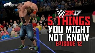 WWE 2K17 - 5 Things You Might Not Know! #12 (How To Do The Avalanche Attitude Adjustment & More)