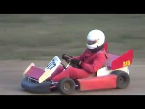 Redwood Acres Raceway 7-16-16 Speedway Kart Main Event