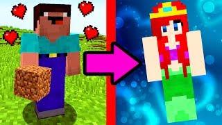 Майнкрафт : НУБ ПРОТИВ ДОМА ИЗ ВОДЫ  ~ НУБ ПРОТИВ МАЙНКРАФТ / ТРОЛЛИНГ НЕВИДИМКОЙ в Minecraft