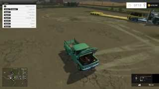 Farming Simulator 2015 Mods- Kenworth Heavy Haul, 1966 Chevy C10, Dodge Cummins and More!