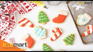 COOKIES ICING ROYAL GIÁNG SINH | BEEMART