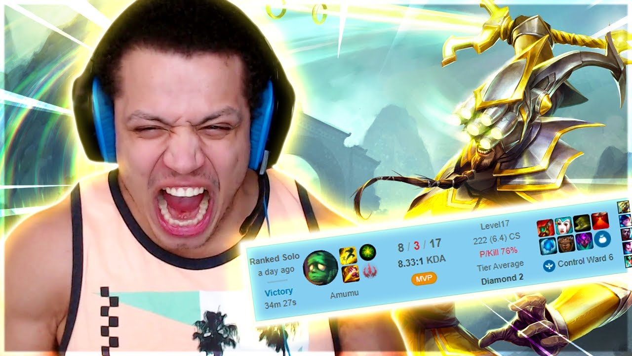 Tyler1 - I've Found a Master Yi Counter (Full Game)