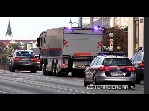 Polizei Werttransporter Wien Begleitung Bmw X5 Eko