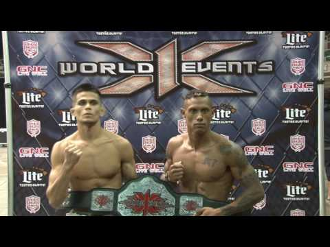 X-1 World Events featuring Cheyden Leialoha vs Jordan Macking