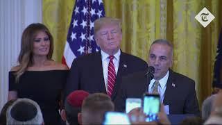 Donald Trump praised as 'greatest friend' of Jews