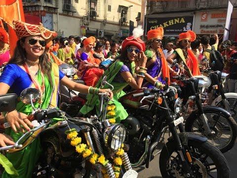 Gudi Padwa shobha yatra 2017 | Girgaon | Mumbai