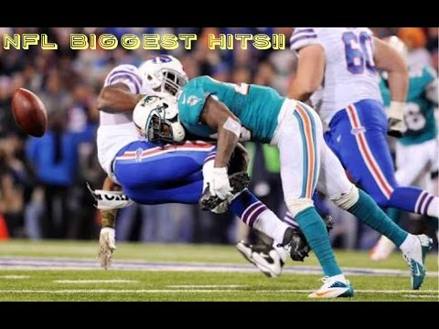 BIGGEST NFL HITS (HERE COMES THE BOOM)