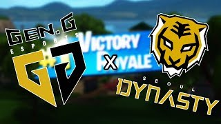 Gen.G Fortnite AND Seoul Dynasty Fissure 27 KILL WIN!!! (Fortnite Battle Royale)