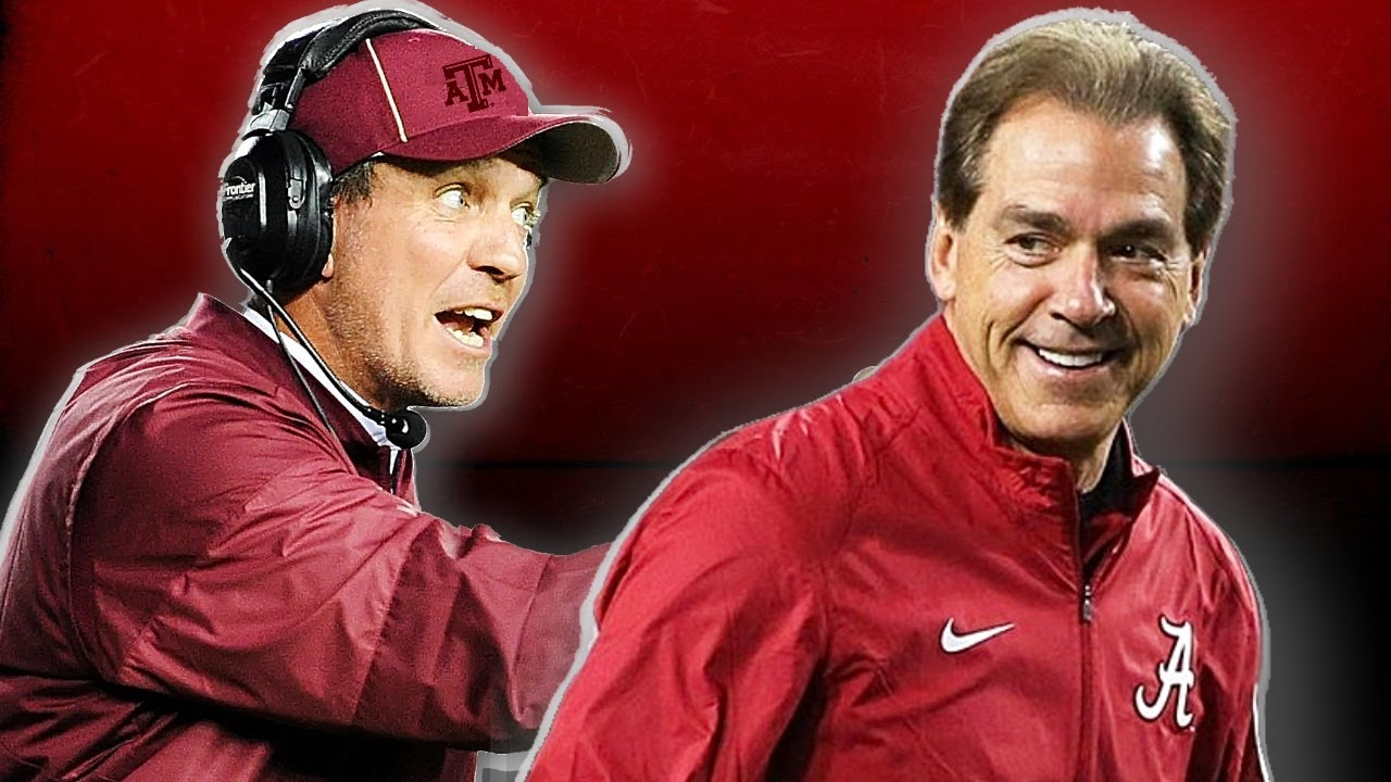 """Jimbo Fisher on Saban: """"We gon beat his a** when he's there"""" REACTION"""