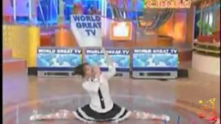 Asian Girl Epic Robot Dance