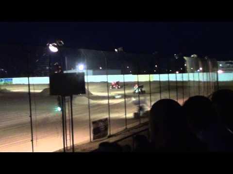 El Paso Speedway Park  ASCS  Sprints heat race 2