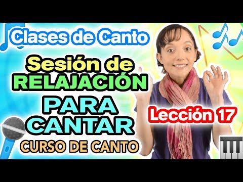 RELAJACIÓN Profunda - Lección 17 - Curso de Canto - CECI SUAREZ Clases de Canto