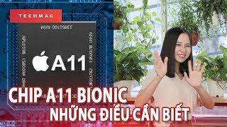 Chip A11 Bionic trên iPhone X: Con SoC mạnh và thông minh nhất của Apple!!!