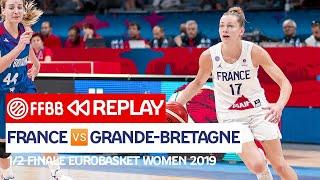 Download lagu [MATCH COMPLET] France - Grande-Bretagne / 1/2 Finale EuroBasket Women 2019