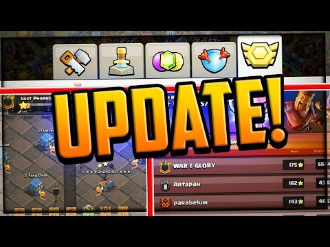 UPDATE - Clash Of Clans Clan War League Changes And MORE!