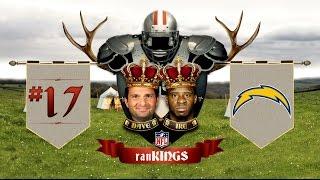 No. 17 San Diego Chargers: 2015 Preseason RanKings