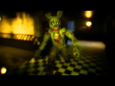 HUNTED BY SPRINGTRAP...DO NOT STOP RUNNING! || Five Nights at Freddys 3D