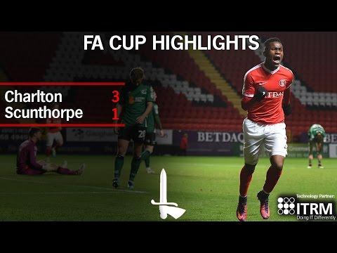 FA CUP HIGHLIGHTS | Charlton 3 Scunthorpe United 1