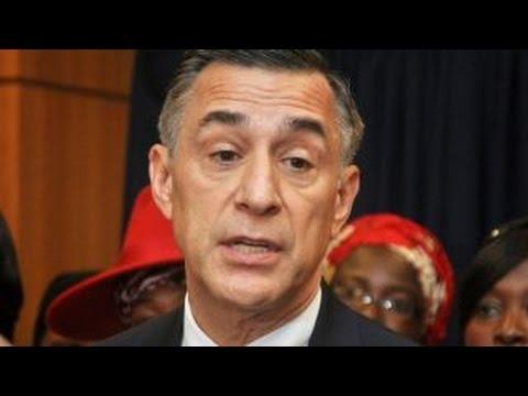 Incumbent Republican congressman facing tough reelection