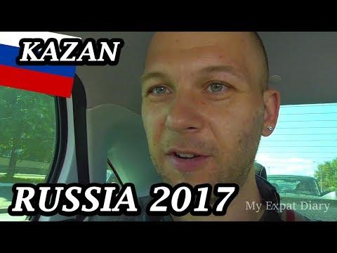 My Expat Diary - Russia (Kazan, Trans-Siberian-Express, Kremlin, Bauman Street) 19/08/2017