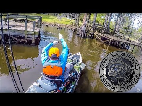 Fishing Against The Best! | Kayak Bass Fishing National Championship | Part 4