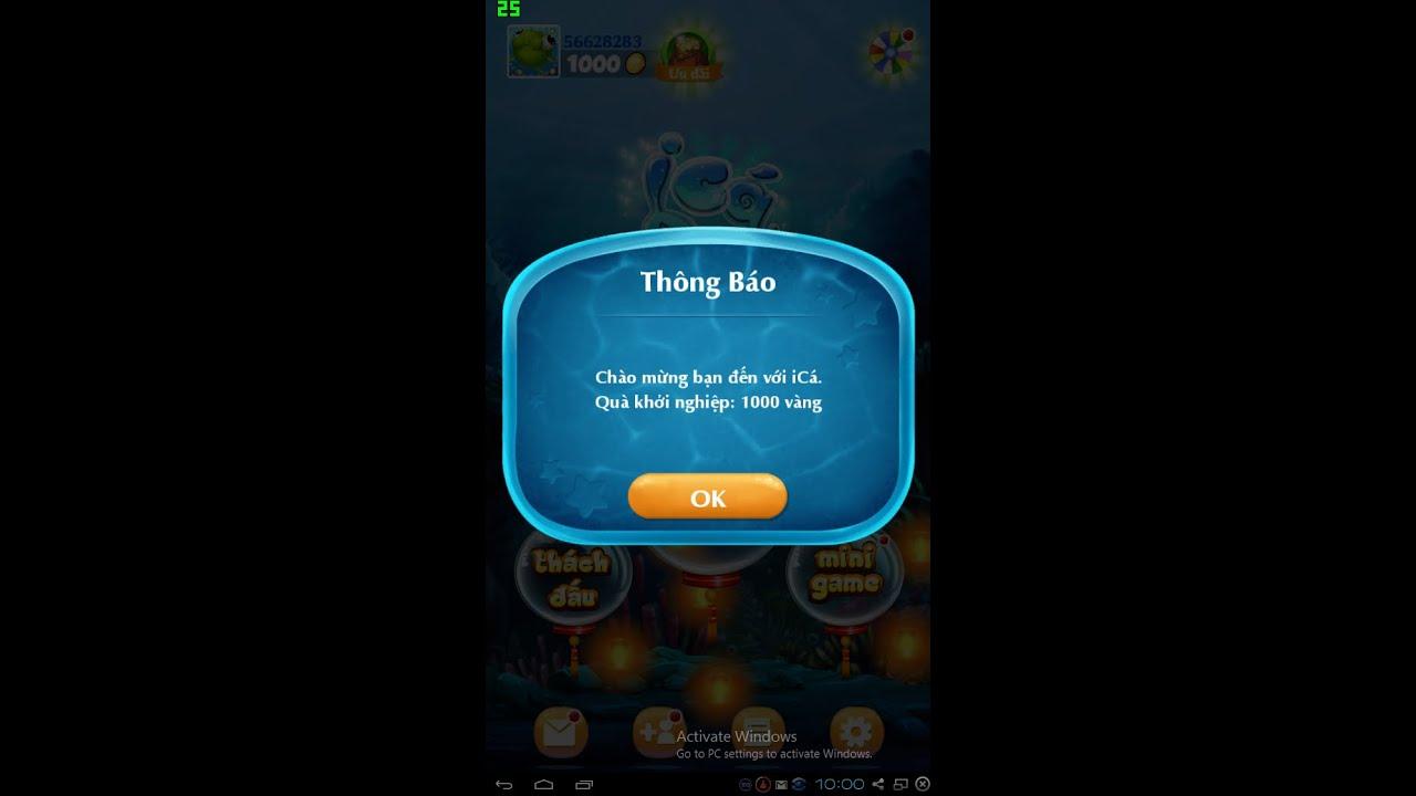 ICá -Hack Xu Ban Ca 2016 Android + IOS