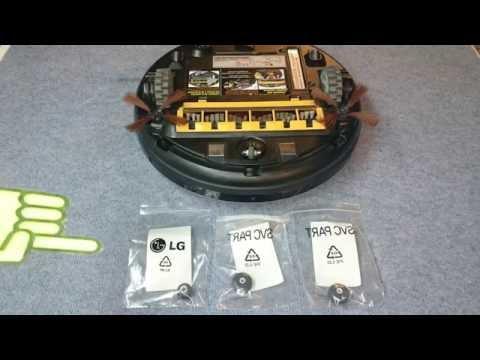 hombot lg robot roboking ruedas roun