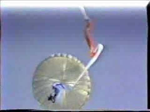 Airborne Warfare: Israeli Defense Force Parachute Jump!