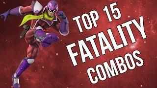 Top 15 Fatality Plays - Super Smash Bros Wii U (SSB4)