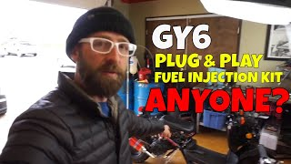 GY6 plug & play fuel injection!! WHAAAAT?