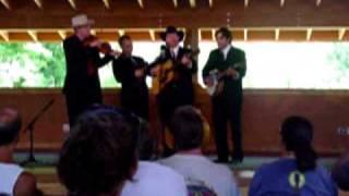 """The High 48s perform """"Joy, Joy, Joy"""" at the 2008 RockyGrass Band Co..."""