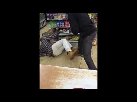 Gas Station Manager BEATS UP Customer