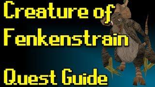 RSQuest: Creature of Fenkenstrain Quest Guide [Runescape | RS3]