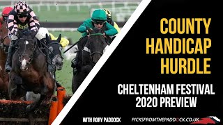 COUNTY HURDLE PREVIEW (FRIDAY - CHELTENHAM FESTIVAL 2020)