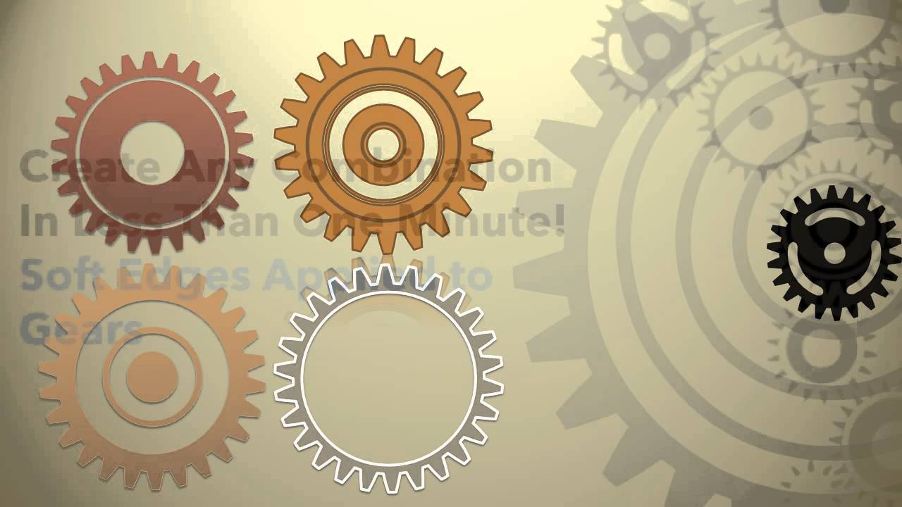 Animated Gears for PowerPoint - YouTube