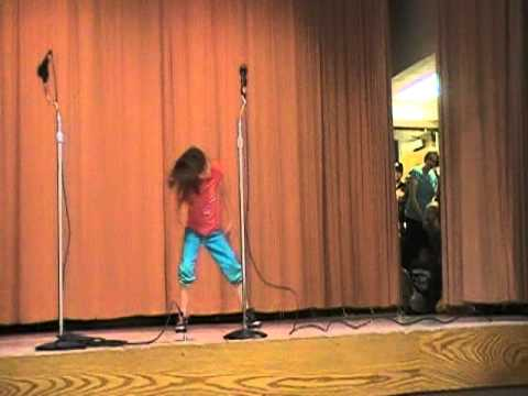 "Elizabeth Reynolds dancing to ""Whip My Hair"" at Pioneer Elementary School 2011 Talent Show"