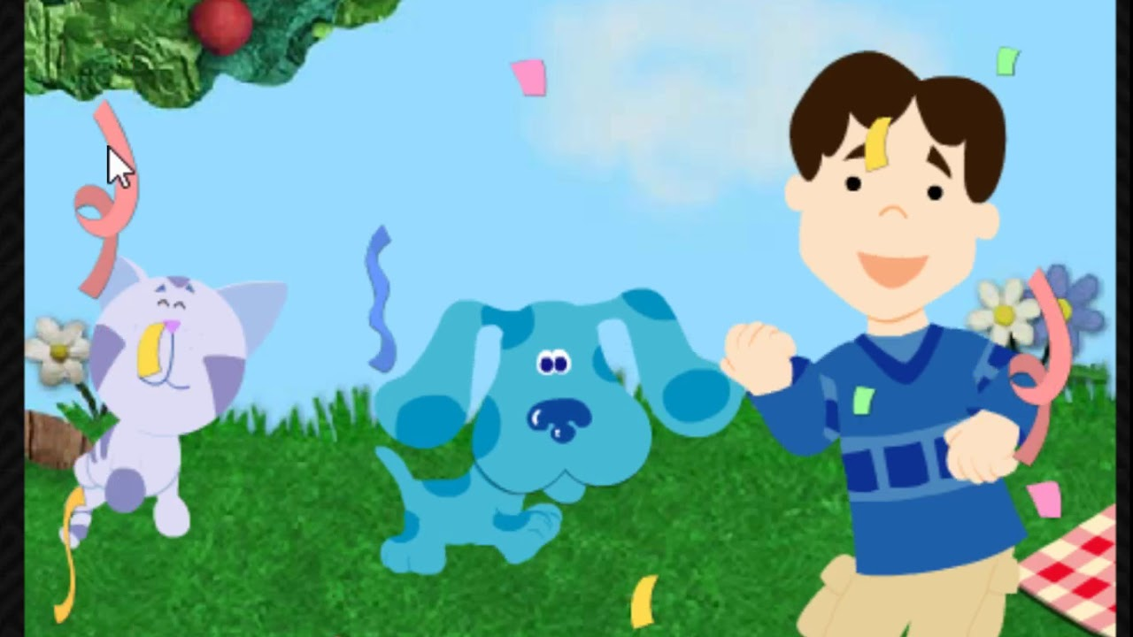 Blue's Matching Game | Blue's Clues Flash Games - YouTube